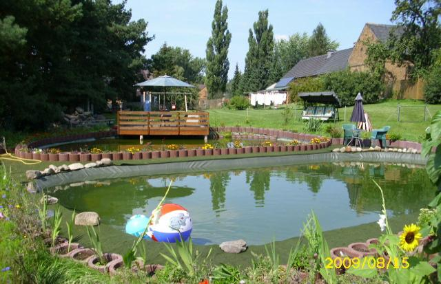 unsere Teichanlage